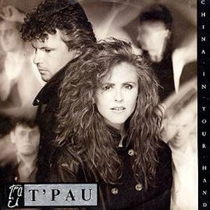 T'Pau China In Your Hand Single Cover