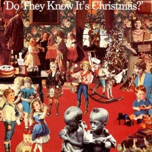 Band Aid Do They Know It's Christmas Single Cover