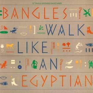 The Bangles Walk Like An Egyptian Single Cover