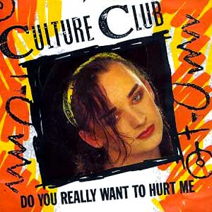 Culture Club - Do You Really Want To Hurt Me - Single Cover