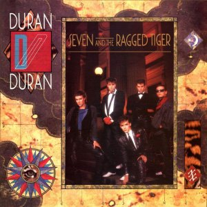 Duran Duran Seven and the Ragged Tiger Album Cover