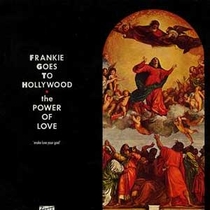 Frankie Goes To Hollywood – The Power Of Love - Single Cover