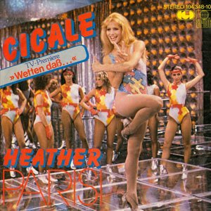 Heather Parisi - Cicale - Single Cover