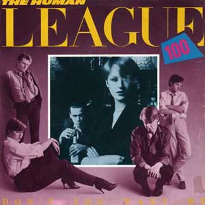 The Human League Don't You Want Me Single Cover