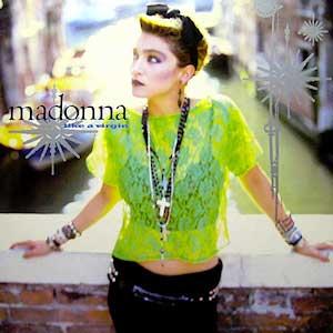 Madonna - Like A Virgin - SIngle Cover