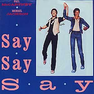 Paul McCartney and Michael Jackson Say Say Say