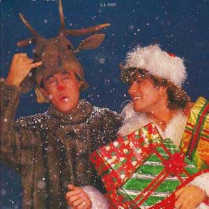 Wham! The Last Christmas Single Cover