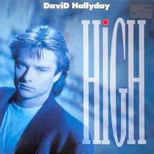 David Hallyday - High - Single Cover