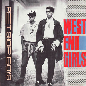 Pet Shop Boys West End Girls Single Cover