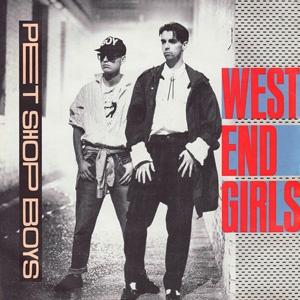 Pet Shop Boys West End Girls Single Cover