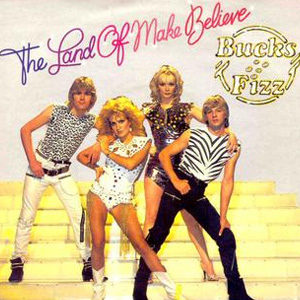 Bucks Fizz Land of Believe Single Cover