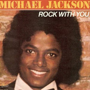 Michael Jackson Rock With You Single Cover