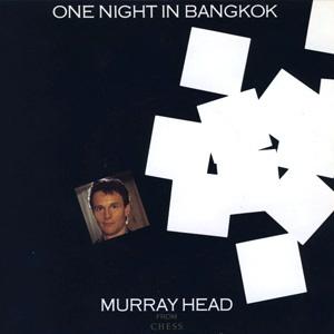 Murray Head One Night in Bangkok Single Cover