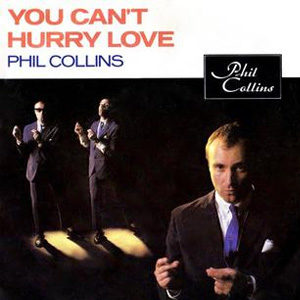 Phil Collins You Can't Hurry Love Single Cover