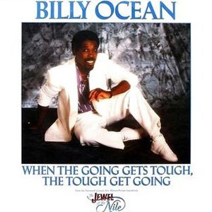 Billy Ocean When the Going Gets Tough, the Tough Get Going Single Cover