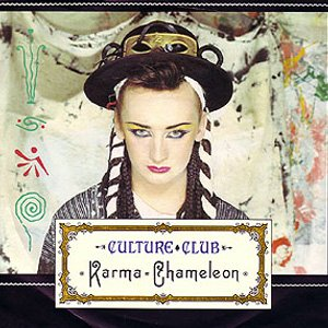 Culture Club Karma Chameleon Single Cover