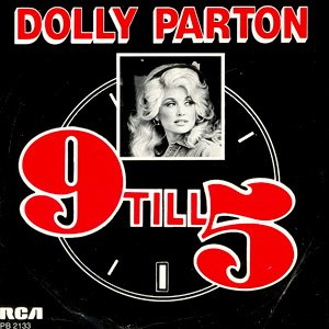 Dolly Parton 9 to 5 single cover