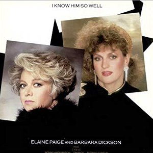 Elaine Paige and Barbara Dickson I Know Him So Well Single Cover