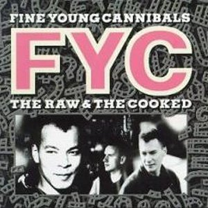 Fine Young Cannibals The Raw & The Cooked Album Cover