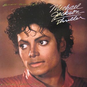 Michael Jackson Thriller Single Cover