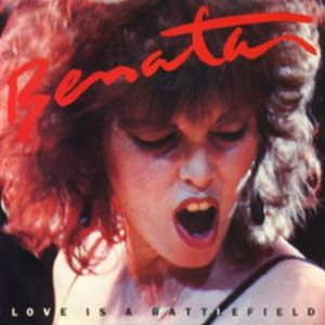 Pat Benatar Love Is A Battlefield Single Cover
