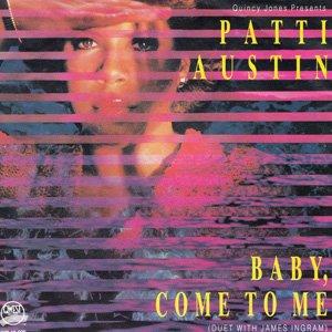Patti Austin James Ingram Baba Come To Me Single Cover