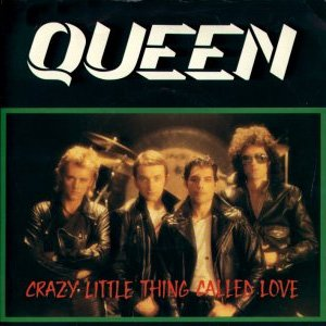 Queen Crazy Little Thing Called Love Single Cover