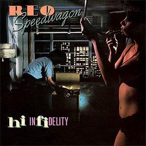 REO Speedwagon Hi Infidelity Album Cover