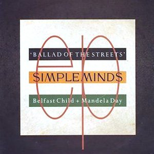 Simple Minds Ballad of the Street cover