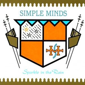 Simple Minds Sparkle in The Rain Album Cover