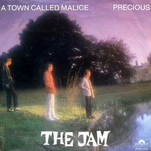 The Jam - A Town Called Malice / Precious single cover