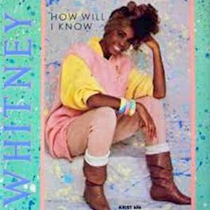 Whitney Hoston How Will I Know Single Cover