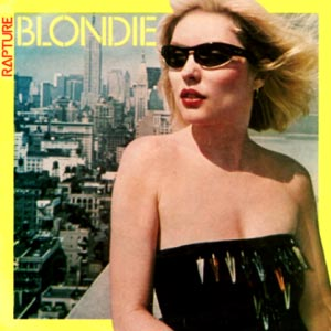 Blondie Rapture single cover