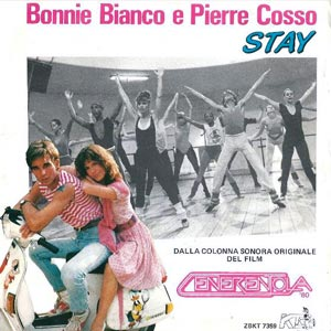 Bonnie Bianco Pierre Cosso Stay single cover