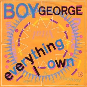 Boy George Everything I Own Single Cover