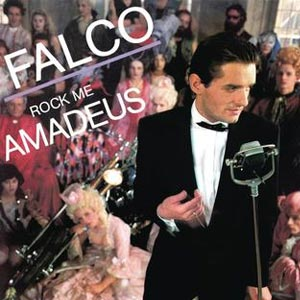 Falco Rock Me Amadeus Single Cover