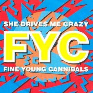Fine Young Cannibals She Drives Me Crazy Single Cover