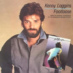Kenny Loggins Footloose single cover