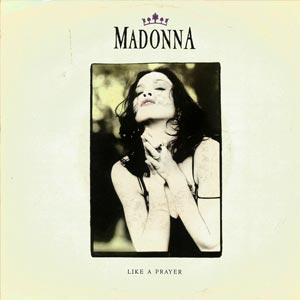 Madonna Like a Prayer Single Cover