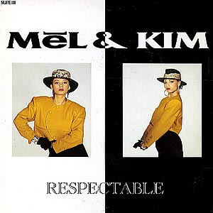 Mel and Kim Respectable Single Cover