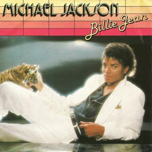 Michael Jackson Billie Jean Single Cover