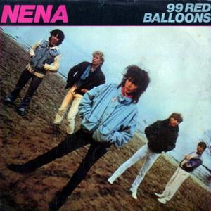 Nena 99 Red Balloons Single Cover
