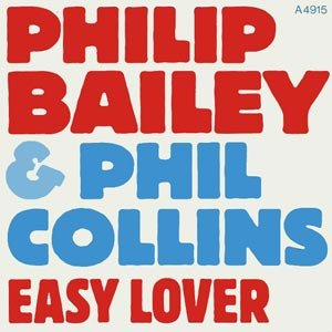 Philip Bailey Phil Collins Easy Lover Single Cover