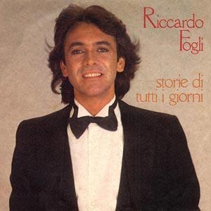Riccardo Fogli Storie di tutti i giorni single cover