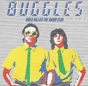 The Buggles Video Killed The Radio Star Single Cover