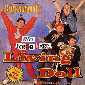 Cliff Richard & The Young Ones - Living Doll - Single Cover