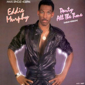 Eddie Murphy Party All The Time Single Cover