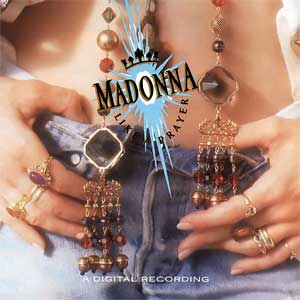Madonna Like A Prayer Album Cover