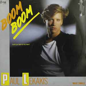 Paul Lekakis - Boom Boom (Let's Go Back to My Room) - Single Cover