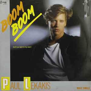 Paul Lekakis - Boom Boom (Let's Go Back to My Room) - Single Cover